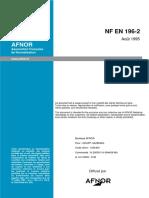 NF EN 196-2