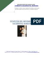 Estatutos Movimiento sacerdotal mariano