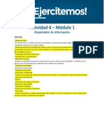 Gestión de Residuos I -  API 1 Actividad 4 M1