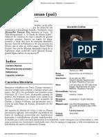 Alexandre Dumas (pai) – Wikipédia, a enciclopédia livre
