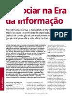 Artigo 04 - Entrevista - Negociar na era da informação