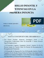 DESARROLLO Y COMPETENCIAS EN LA PRIMERA INFANCIA