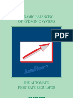 DYNAMIC BALANCING OF HYDRONIC SYSTEMS