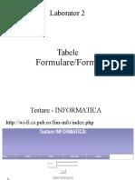 Laborator 2 HTML&CSS