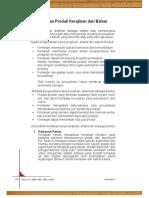 E. Pengemasan dan Perawatan Kerajinan Bahan Lunak