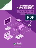 Protocolo Novo Normal Educação