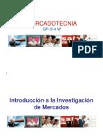 Sesión IV - Investigación de Mercados, Problema de Investigación y Datos Secundarios