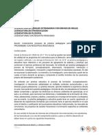 LINEAMIENTOS PRACTICA PEDAGÓGICA ESTUDIANTES PROGRAMAS REGISTRO RENOVADO