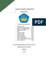 MAKALAH KOSA KATA BAHASA INDONESIA.docx