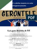 GERONTELE Guía Para Docentes de ELE