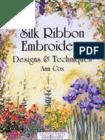Ann Cox Silk Ribbon Embroidery