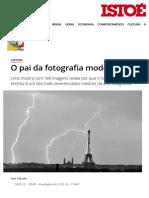 O pai da fotografia moderna - ISTOÉ Independente