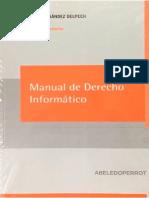 Manual de Derecho Informatico - Horacio Fernandez Delpech