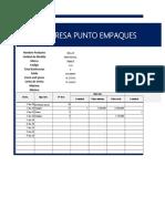 Kardex/ inventario facturas