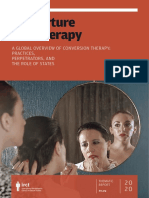 IRCT Research on Conversion Therapy