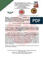 Referência CARTA DE APOIO E RECONHECIMENTO ALIANZA LATINOAMERICANA Y CARIBEÑA DE CERTIFICACIONES PROFESIONALES,  ALYCCEP.doc.