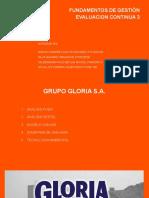FUND DE GESTION - GLORIA SA