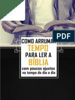2014 - Mini Curso Como arrumar tempo para ler a Bíblia com poucos ajustes no tempo do dia a dia.pdf