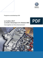 SSP 569 - Crafter 2017 - La boite mecanique a 6 vitesses 0AX