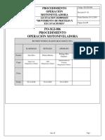 PO-SGI-006 OPERACIÓN MOTONIVELADORA