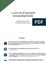 Fiebre en el paciente inmunodeprimido.ppt