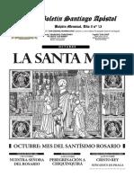 Boeltín Jesus y Maria La Santa Misa