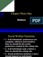 Welfare Varian