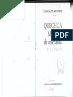 Clodoaldo Soto - Quechua Manual de Enseñanza