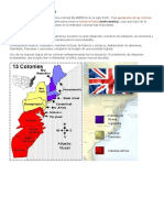 LAS COLONIAS INGLESAS EN AMÉRICA