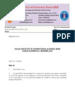 BIIB-Placement Letter-Batch 2009-11