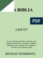 LA BIBLIA (1)