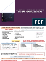 Rangkuman Standar Pelayanan Minimal - CPNS Mastery