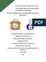 INFORME DE PRACTICAS PARA OPTAR BACHILLER