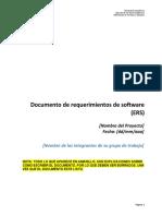 DOC-06 Documento de Requerimientos de Software (ERS)
