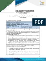 Guía de actividades y rúbrica de evaluación -  Pre tarea - Progresiones.pdf