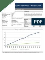 Murabaha Fund Fact Sheet_December_2010