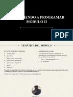 Aprendiendo a Programar - Modulo II.pptx