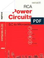 1969 SP-51 RCA Power Circuits