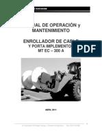 Manual de Operacion Enrollador C-300A