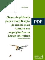 Chave para Identificação das Presas da Coruja-das-torres