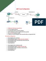GRE Tunnel  Configuration.pdf