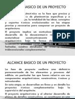ALCANCE BASICO DE UN PROYECTO