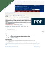 Fed EMergency Hearing Criteria