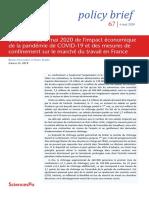 COVID France impact