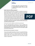Exide Consumer Warranty - (Pro Rata Warranty - Pre Oct. 2012)
