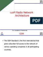 GSM radio Network