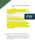 GUIA CONSTITUCIÓN POLÍTICA MECANISMOS DE PARTICIPACIÓN CIUDADANA SEXTOS A-B