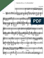 FRESCOBALDI - Canzona detta La Bernardina (flute, guitar - flauto, chitarra)