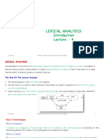 L4_Lexical Analysis (Introduction)