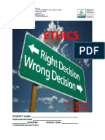 FUNDAMENTAL CONCEPTS IN ETHICS